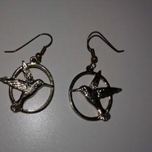 The Hunger Games/ Mockjay Earrings